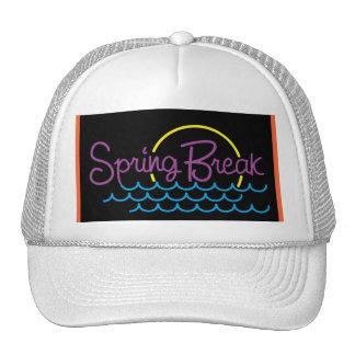 Spring Break in Neon Colors - Trucker Hat
