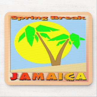 Spring Break Jamaica Mouse Pad
