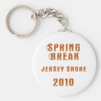 Spring Break Jersey Shore 2010 Keychain