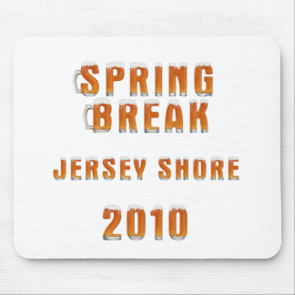 Spring Break Jersey Shore 2010 Mouse Pad