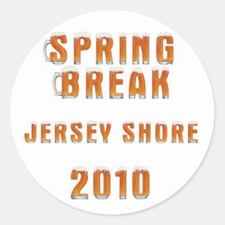 Spring Break Jersey Shore 2010 Stickers