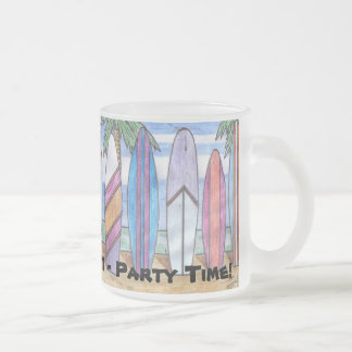 SPRING BREAK mug (frosted glass)