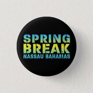 Spring Break Nassau Bahamas Button