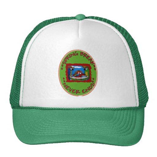 Spring Break Never Ends Trucker Hat
