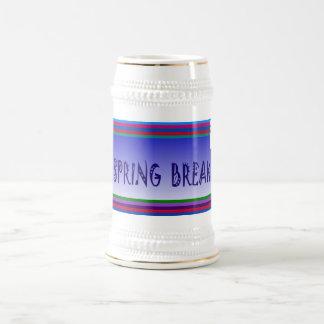 Spring Break & palm Tree - Beer Stein
