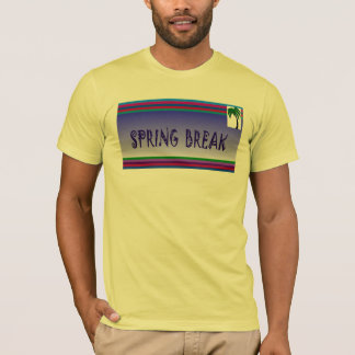 Spring Break & Palm Tree - T-Shirt