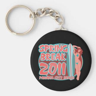 Spring Break Panama City Beach Keychain