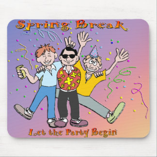 Spring Break Party Mouse Pad