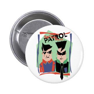 Spring Break Patrol Pinback Buttons