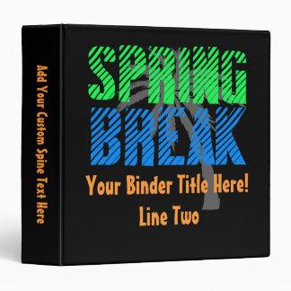 Spring Break Photo Album Cover/Binder Scrapbook Binder