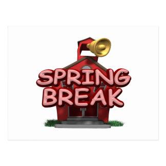 Spring Break Postcard