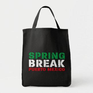 Spring Break Puerto Mexico Tote Bag