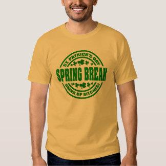 SPRING BREAK St. Patrick's Day T-shirt