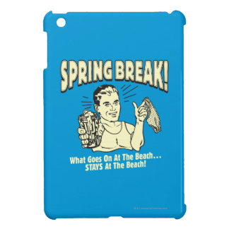 Spring Break: Stays at the Beach Cover For The iPad Mini