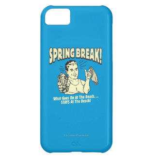 Spring Break: Stays at the Beach iPhone 5C Cover