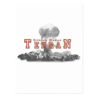 Spring Break Tehran Iran Postcard