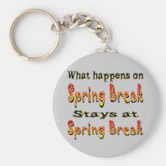 Spring Break What Happens Key Chains