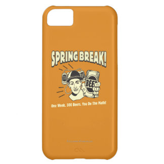 Spring Break: You do the Math Case For iPhone 5C