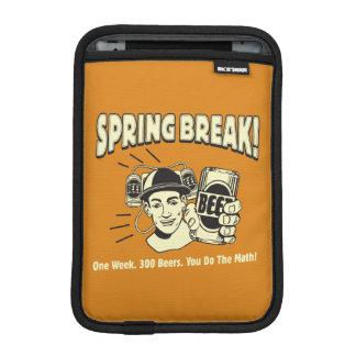 Spring Break: You do the Math iPad Mini Sleeve