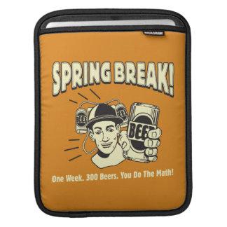 Spring Break: You do the Math iPad Sleeve
