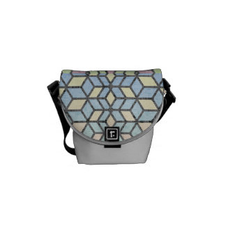 Spring Breeze Prism Courier Bag