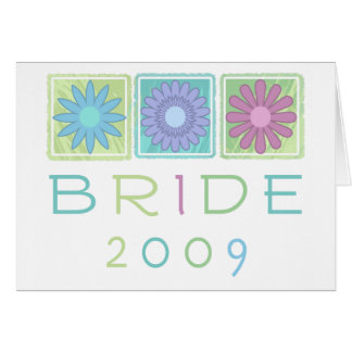 Spring Bride 2009 Greeting Card