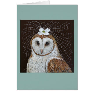 Spring Bride card