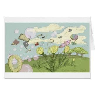 Spring Bubbles Cards