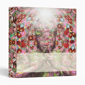 Spring Buddha avery binder