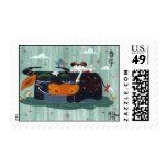Spring Buffalo Postage Stamp
