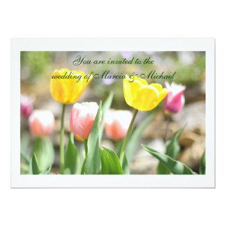 Spring Bulbs invitations