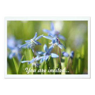 "Spring Bulbs invitations 5"" X 7"" Invitation Card"