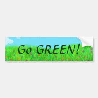 Spring Bumper Sticker