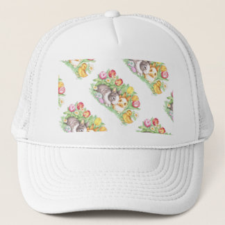 Spring Bunnies Holiday Bunny Easter Hat Cap