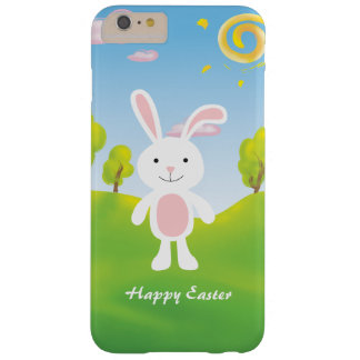 Spring Bunny Happy Easter Barely There iPhone 6 Plus Case