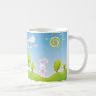 Spring Bunny Happy Easter Mug