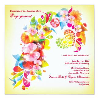 Spring Burst Invitation