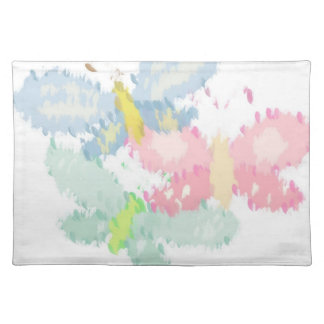 Spring Butterflies Cloth Placemat