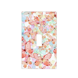 Spring Butterflies Light Switch Cover