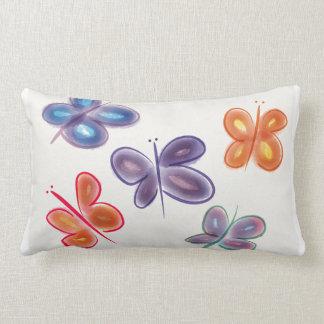 Spring butterflies pillow