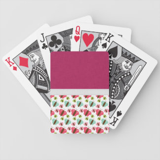 Spring Butterflies Bicycle Playing Cards