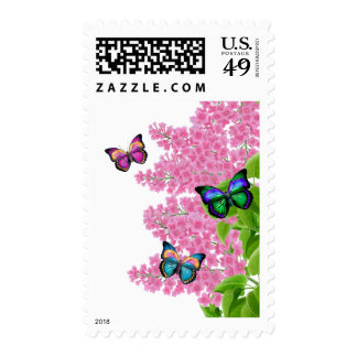 Spring Butterflies Postage