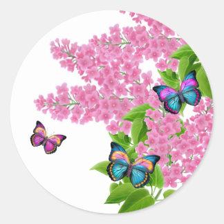 Spring Butterflies Sticker
