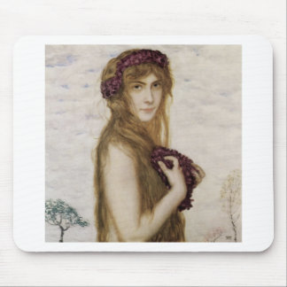 Spring by Franz Stuck Mouse Pad