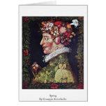 Spring By Giuseppe Arcimboldo Greeting Card