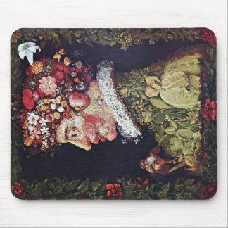 Spring By Giuseppe Arcimboldo Mouse Pad