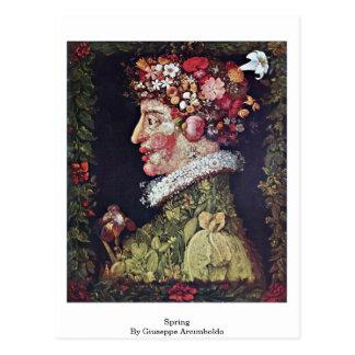 Spring By Giuseppe Arcimboldo Postcard