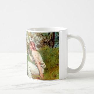 Spring By John Collier Coffee Mug
