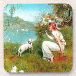 Spring By John Collier Beverage Coaster