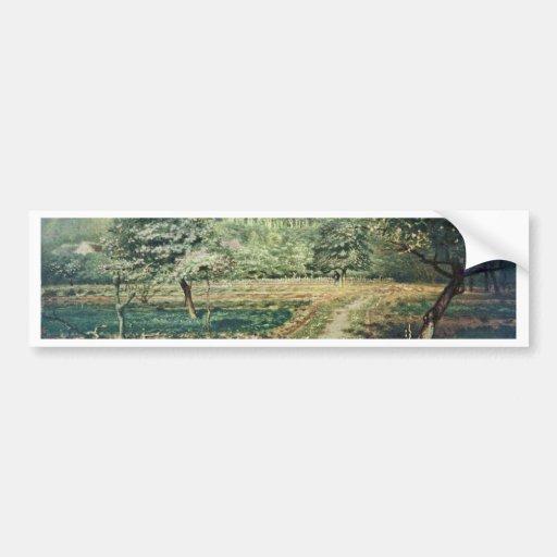 Spring,  By Millet  (Best Quality) Bumper Sticker